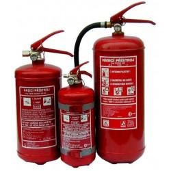 Hasicí přístroje s čistým hasivem