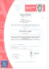 Certifikát Bureau Veritas THT